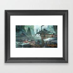 SunderFall: Galbourne Ridge Framed Art Print