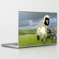 lamb Laptop & iPad Skins featuring Lamb by Knot Your World
