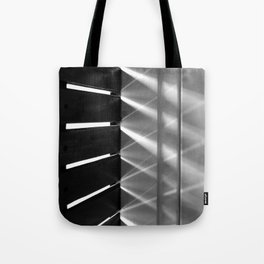 Game of light Tote Bag