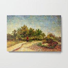 Corner in Voyer-d'Argenson Park at Asnières by Vincent van Gogh Metal Print