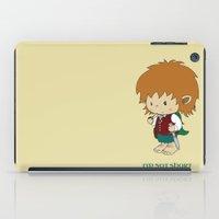 hobbit iPad Cases featuring I'm not short, I'm a hobbit by mangulica