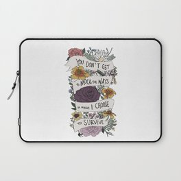 survive Laptop Sleeve