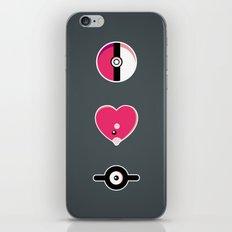 I Luv(disc) Pokémon iPhone & iPod Skin