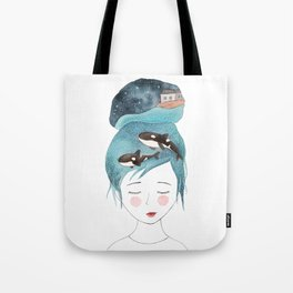 Magic in my head Tote Bag