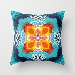 Pattern from Worlds Throw Pillow