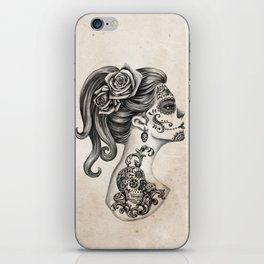 Day of the Dead Girl iPhone Skin