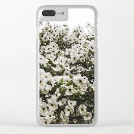 Demure Dogwood Clear iPhone Case