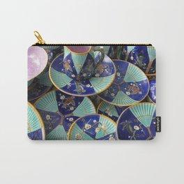 Wedgwood majolica Fan pattern Carry-All Pouch