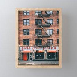 Good Stuff Diner Framed Mini Art Print
