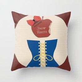 The Original Story: Snow White Throw Pillow