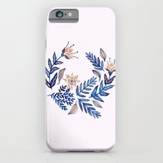 Blue Wreath iPhone 6 Slim Case