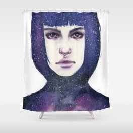 Le Froid Shower Curtain
