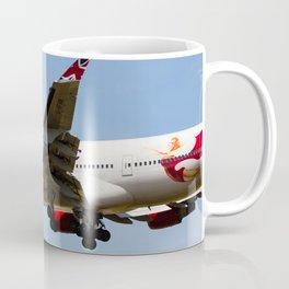 Virgin Atlantic Boeing 747 Coffee Mug