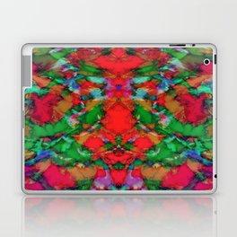 Interlocking ghosts red Laptop & iPad Skin