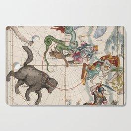 Vintage Star Atlas - Constellation Map Cutting Board