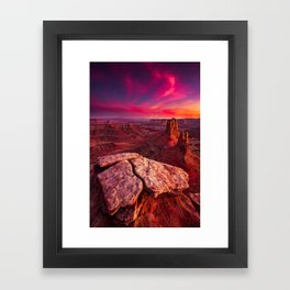 Desert Solitaire (Fine Art Landscape Photography) Framed Art Print