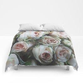 Pastel Roses Comforters