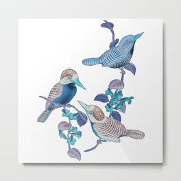 Future Birds Metal Print