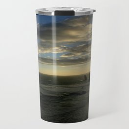 Clouds circling the Twelve Apostles Travel Mug