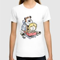 hobbes T-shirts featuring Not the Droids! by Billy Allison