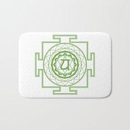 Sri Yantra Heart Chakra Bath Mat