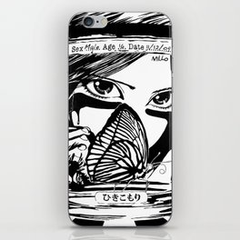 Hikikomori iPhone Skin