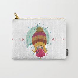 Lovely Rain Carry-All Pouch