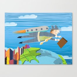 Going Global Canvas Print