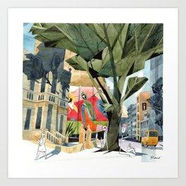Curitiba City Art Print