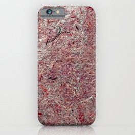 Japanese Handcrafted Dyed Paper Abstract Texture iPhone Case