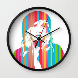 Stevie Nicks | Pop Art Wall Clock