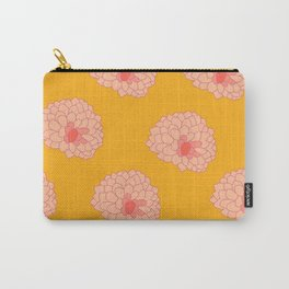 Pom Flowers Carry-All Pouch