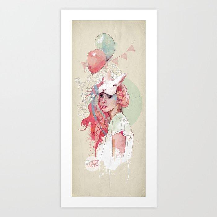 Sweet Party Art Print