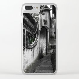 colorless shanghai 8 Clear iPhone Case