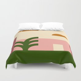 Thinking Back To The Holiday I Never Had .02 Duvet Cover