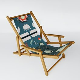 Bear Christmas decoration Sling Chair