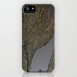 Purple Sea Fan I iPhone Case