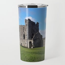 Llansteffan Castle - Carmarthenshire, Wales - Series Travel Mug