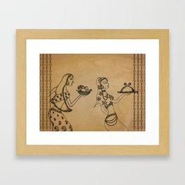 Khanasutra Framed Art Print