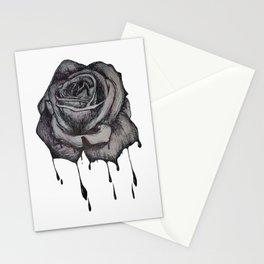 Dripping Rose Stationery Cards