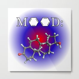 Mood - Testosterone Metal Print
