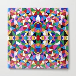 Kaleidoscope III Metal Print
