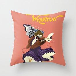 MC'dith Wharton Throw Pillow