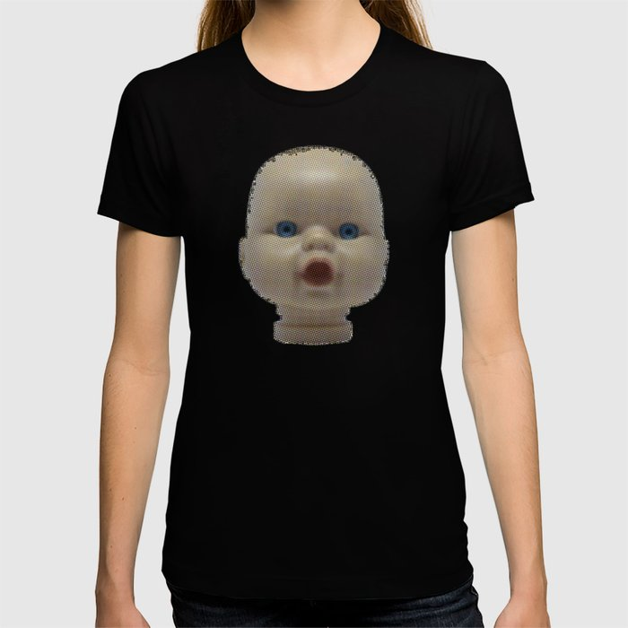 Creepy Dolls Head T-shirt