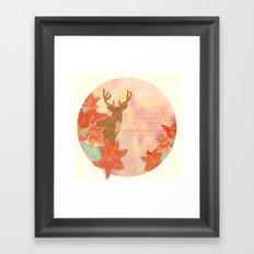 He Leads Framed Art Print