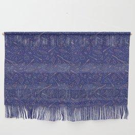Yer a Wizard - Blue + Bronze Wall Hanging