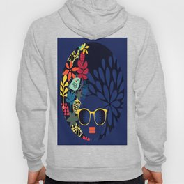 Afro Diva : Sophisticated Lady Blue Hoody