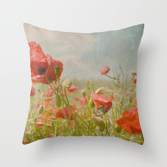 memories of summer I Throw Pillow
