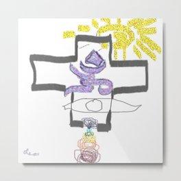 I AM Religion 2b Metal Print