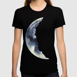 Crescent Moon Watercolor T-shirt